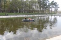 Кропивницький: у центрі міста в Інгулі втопився чоловік