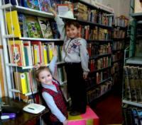 В кропивницькій бібліотеці відбулася акція «Стань вище і читай!»