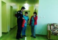 На Кіровоградщині перевіряють стан протипожежного захисту районних лікарень