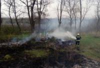 На Кіровоградщині вогнеборці загасили 4 пожежі у екосистемах