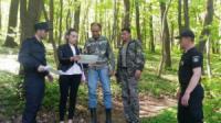 На Кіровоградщині відбувся рейд у Чорному лісі