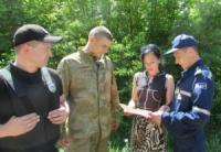 На Кіровоградщині у лісових масивах області проводяться спільні рейди