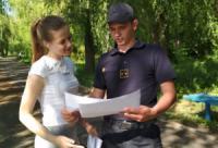 Проведено спільне відпрацювання лісового масиву у Світловодському