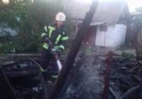 На Кіровоградщині ліквідували загоряння господарської споруди