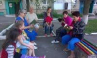 Відбулася вулична акція «Читаємо Кропивницького»