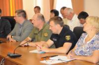 У Кропивницькому головний рятувальник області взяв участь у апаратній нараді облдержадміністрації