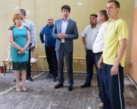 Сергій Кузьменко оглянув хід проведення ремонтних робіт у районній дитячо-юнацькій спортивній школі