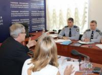У Кропивницькому поліцейські обговорили з представниками консультативної місії ЄС шляхи удосконалення роботи