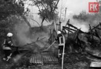 На Кіровоградщині пожежно-рятувальні підрозділи загасили 2 пожежі у житловому секторі