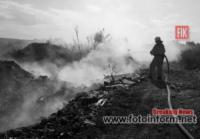 В екосистемах Кіровоградщини вогнеборцями приборкано 5 пожеж