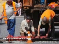 Кропивницький: в центі міста встановили сучасний пожежний гідрант
