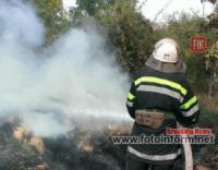 Кіровоградська область: вогнеборцями приборкано 7 пожеж