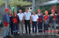 Одеських залізничників відзначили за винахід пристрою для пресування стружки