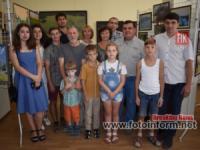 У Кропивницькому відбулося відкриття виставки «Попельнасте. Занурення в тишу»