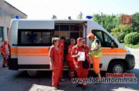 Команда підстанції екстреної медичної допомоги Кропивницького краща серед колег області