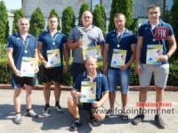 У Кропивницькому рятувальники здобули «золото» в змаганнях з гирьового спорту
