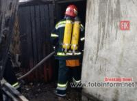 Кіровоградська область: бійці У ДСНС в області сім разів гасили пожежі у житловому секторі