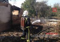 На Кіровоградщині пожежно-рятувальні підрозділи приборкали 7 пожеж у житловому секторі