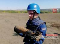 На Кіровоградщині під час земляних робіт знайшли мінометні міни