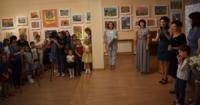 У Кропивницькому відбулося відкриття виставки робіт вихованців арт-студії «Совушка».