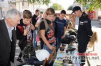 У Кропивницькому рятувальники провели інформаційну роботу серед юних мешканців міста