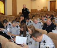 У Кропивницькому поліцейські складають заліки