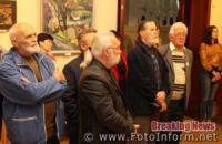 Кропивницький: виставка «Під покровом осінніх муз» у фотографіях