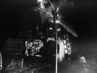 У Кіровоградському районі загасили пожежу комбайна