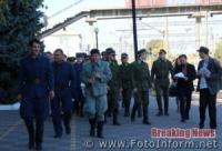 У Кропивницькому відбулася історична реконструкція прибуття УСС