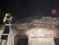Минулої доби на Кіровоградщині приборкали 2 пожежі в житловому секторі