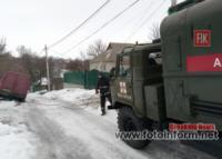 Кіровоградщина: на складних ділянках автодоріг водіям надавали допомогу