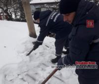 На Кіровоградщині рятувальники 16 разів надавали допомогу по подоланню наслідків погіршення погодних умов