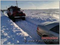 На Кіровоградщині 12 разів надали допомогу водіям транспортних засобів