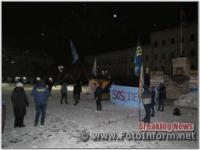 У Кропивницькому провели флеш-моб «SOS Одеса»