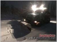 На Кіровоградщині за ніч натрусило більше 5 см снігу