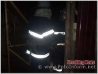 На Кіровоградщині рятувальники подолали займання у господарчій споруді