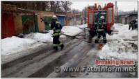 За добу на Кіровоградщині виникло дві пожежі