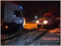 На Кіровоградщині 5 разів надавали допомогу водіям транспортних засобів