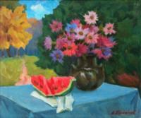 Кропивницький: у художньому музеї презентовано експозицію «Майстер натюрморту»