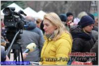 У Кропивницькому мешканці масово знімали на смартфони свято Колодія