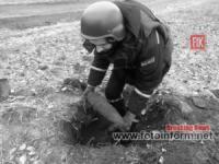 На Кіровоградщині сапери знищили 11 вибухонебезпечних предметів часів Другої світової війни