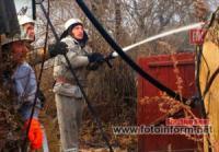 На Кіровоградщині у житловому секторі вогнеборці ліквідували 4 пожежі