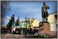 У Кропивницькому сьогодні співали та читали вірші Тараса Шевченка
