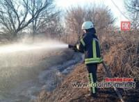 На Кіровоградщині ліквідували 11 пожеж у екосистемах області