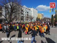 У Кропивницькому розпочалася святкова хода комунальників