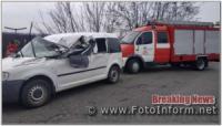 На Кіровоградщині із понівеченого легковика деблокували постраждалого водія