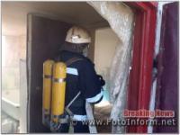 У пожежі на Кіровоградщині загинув чоловік