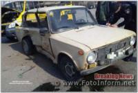 Три розбиті автівки стали результатом ДТП у Кропивницькому