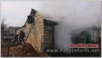 На Кіровоградщині за добу на пожежах загинуло 2 людини