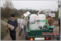 На Кіровоградщині відбулося відпрацювання Олександрівського району.
